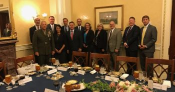 MARINE CORPS COMMANDANT GENERAL ROBERT B. NELLER MEETS WITH SENATE STAFF LEADERS IN WASHINGTON