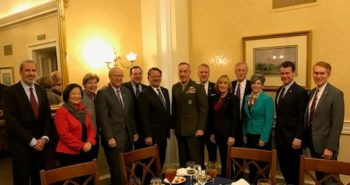 CHAIRMAN OF THE JOINT CHIEFS OF STAFF GENERAL JOSEPH DUNFORD MEETS WITH SENATORS IN WASHINGTON