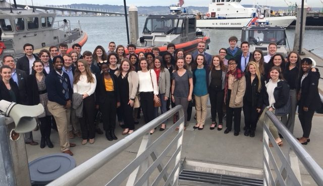 STENNIS CENTER HOSTS MISSISSIPPI STATE PRESIDENTIAL SCHOLARS AT SAN FRANCISCO PROGRAMS