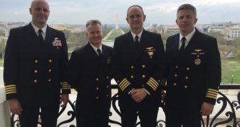 STENNIS CENTER HOST PROGRAM IN WASHINGTON, DC FOR PROSPECTIVE COMMANDING OFFICERS