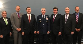 VICE CHAIRMAN OF THE JOINT CHIEFS OF STAFF, PAUL SELVA, MEETS WITH HOUSE MEMBERS IN WASHINGTON
