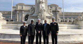 USS GERALD R. FORD LEADERSHIP AWARDEES VISIT WASHINGTON, D.C.