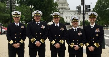 STENNIS CENTER HOSTS PROGRAM IN WASHINGTON, D.C., FOR PROSPECTIVE COMMANDING OFFICERS