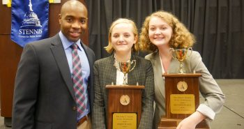 STENNIS CENTER HOSTS  2019 JOHN C. STENNIS NOVICE SPEECH & DEBATE TOURNAMENT